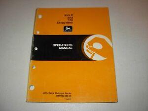 John Deere 330LC & 370 Excavator Operator's Manual , OMT163422 E8