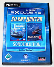 Silent Hunter-Special Edition - 2 PC Games-Part I & II-U BOAT SIMULATION