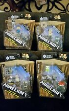 Mattel Minecraft Mini Figures Series 10 Wood Series 4 packs 12 Figures