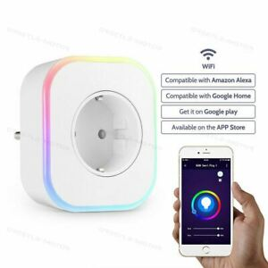 Fashion Dimmable RGB Smart LED Lamp Socket Night Light Voice / WiFi Control GD