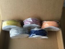 Plastic Beads On String 3mm Pk 5 Assorted Colors