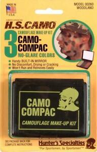 Hunter's Specialties 00260 Camo-Compac Woodland Makeup Face Paint