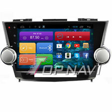 Quad Core 10.2'' Android 6.0 Car Stereo GPS Navi For Toyota Highlander 2009-2014