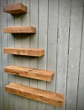 Reclaimed Oak Barn Wood Floating Shelf Authentic and Unique 24 in