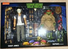 Neca 1990 Movie TMNT Teenage Mutant Ninja Turtles Casey Jones & Raphael 2 Pack