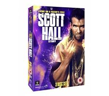 WWE The Scott Hall Story Living on a Razor's Edge [3 DVDs] NEU DVD nWo LIEFERBAR