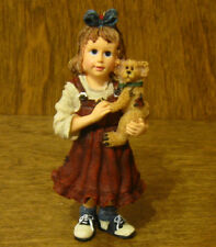 Boyds Resin Ornament(s) #25861 Samantha with Connor. Best Friends, Nib 3.5""