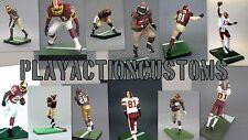 Choice of 1 Washington Redskins Custom Action Figure made w/ Mcfarlane NFL