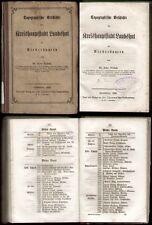 Bayern  Anton Wiesend  Kreishauptstadt Landshut  Niederbayern 1858