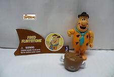 Hannah Barbara Flintstones Fred Flintstone & Hat Loose Complete Action Figure