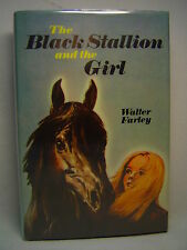 Walter Farley THE BLACK STALLION AND THE GIRL First edition thus, 1971 Film Ed.
