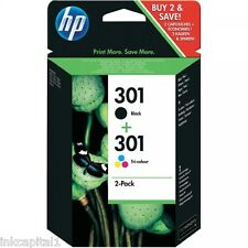 no 301 NEGRO Y COLOR ORIGINAL OEM Inkjet Cartuchos para HP 2050s