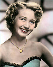 "JANE POWELL AMERICAN ACTRESS, DANCER & SINGER 8X10"" HAND COLOR TINTED PHOTOGRAPH"