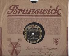 Bing Crosby auf deutscher Brunswick 30er Jahre  : Song of the islands