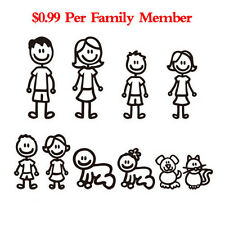Family Member Car Sticker Car Decal Decoration Vinyl Art Decal For Car Removable