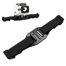Helmet Vented Strap Mount Adapter For Sport Camera Gopro Hero 4 3+ 3 2 Sale