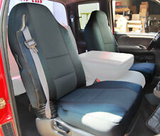 DODGE RAM 1998-2002 CHARCOAL LEATHER-LIKE CUSTOM MADE FRONT SEAT COVERS