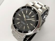 Oris TT1 Divers Date Automatic Gents Watch (Ref: 7533P) Box, Papers & Serviced