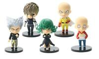 One Punch Man sad set of 5pcs PVC figure figures doll toy dolls anime gift