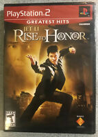 Rise to Honor Greatest Hits (Sony PlayStation 2, 2004) PS2 brand new sealed