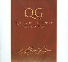 Quartetto Gelato CD Musica Latina Digipak Linus Tico Tico Besame Mucho