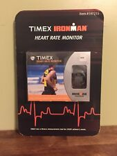 Timex IronMan Heart Rate Monitor Watch Calorie Counter NOS Sealed T5C401 F5