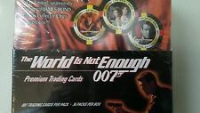James bond the world is not enough card box