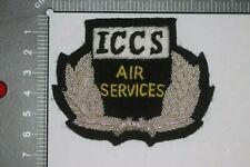 More details for us american air america iccs cia airlines pilot cap badge bullion wire vietnam