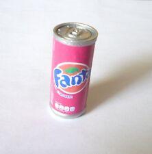 "FANTA STRAWBERRY Can Edition FRIDGE MAGNET Novelty Indonesia 1.5"" Acrylic"