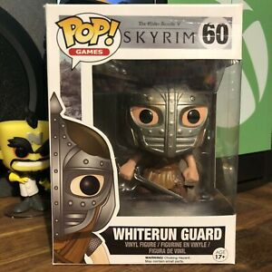 Funko POP Vinyl Skyrim Whiterun Guard #60 + FREE POP PROTECTOR!