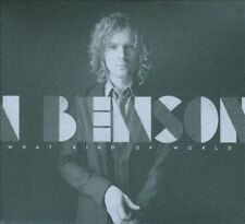 BENSON, BRENDAN - WHAT KIND OF WORLD NEW VINYL RECORD