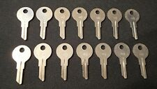 14 Taylor 7NX  Y11 Key Blanks For YALE Locks