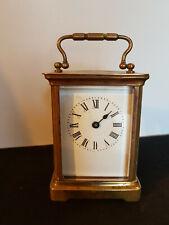 Pendule d'Officier Frères Coouillet-  pendulette de voyage - carriage clock