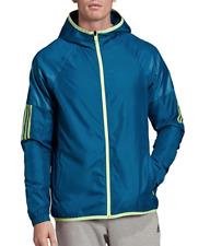 Adidas Mens XXL BLUE Sport 2 Street Windbreaker Activewear Wind Jacket 2XL