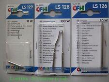 CFH Ersatzlötspitzen 3er Set LS 128 100W + LS 129 15W + LS126 20W