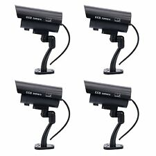 4 PCS IR Bullet Fake Dummy Surveillance Security Camera durable material -SFR