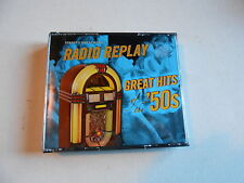 RADIO REPLAY GREAT HITS OF THE '50'S-4 CD SET-READERS DIGEST-WEAVERS-PATTI PAGE