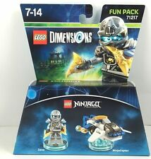 LEGO Dimensions 71217 Ninjago Fun Pack Zanè & NinjaCopter AUS stock Zane (#1307)