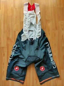 Castelli Rosso Corsa Free Aero Race Team Edition Mens Cycling Bib Shorts 2XL