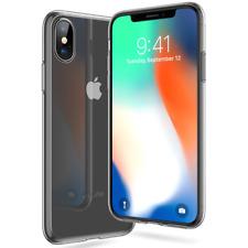 Premium Schutz Hülle für iPhone X Ultra Slim Case Silikon TPU Cover Transparent