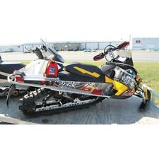 NEW SKIDOO ARCTIC CAT LONG TRACK MOUNTAIN SPARE GAS FUEL CAN AND CARRIER 2.5 GAL