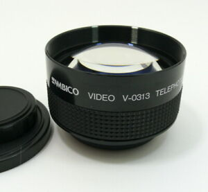 Ambico video auxiliary 2.0X lens. 52mm thread. Attaches to front of lens.