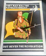 IRISH REPUBLICAN REVOLUTIONARY POSTER MEMORABILIA LONG KESH SINN FEIN BELFAST