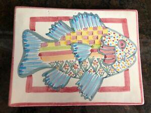 Mackenzie Childs Fish Trivet