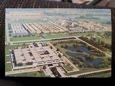 The Upjohn Company Kalamazoo, Michigan Vintage Postcard creases, small tear