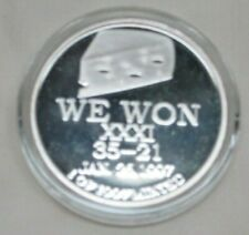 Green Bay Packers .999 Fine Silver Coin - 1997 SUPER BOWL XXXI