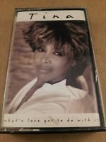 Tina Turner : Whats Love Got To Do With It : Cassette Tape Album From 1993