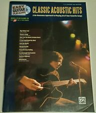 CLASSIC ACOUSTIC PLAY ALONG GUITAR TAB SONGBOOK TABLATURE CD BACKING TRACKS NEW