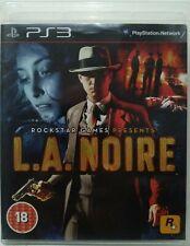 L. A. Noire. Ps3. Fisico. UK Castellano