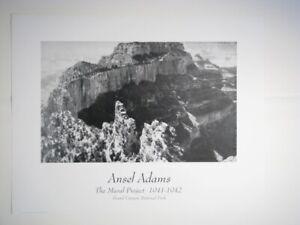 Ansel Adams Set of 4 Posters
